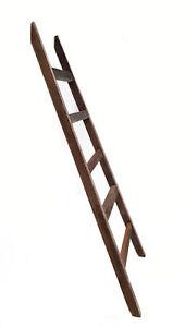 Deko Leiter 100cm - Vintage - Handtuchhalter Holz Leiter Wand Dekoration Shabby