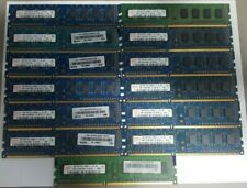 LOT of 15 Hynix 1GB 1RX8 PC3-8500U Desktop Memory HMT112U6TFR8C-G7