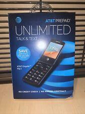 At&T Prepaid Unlimited Talk & Text Flip Phone Cingular Flip 2