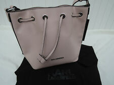 Orig. KARL LAGERFELD Summer bucket Bag Shopper sea shell OVP 299€ NEU&ETIKETT