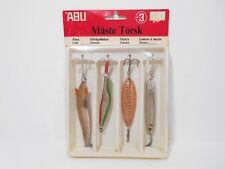 Vintage Abu Sweden Maste Torsk Lures - Toby Egon Krill Koster - New Old Stock