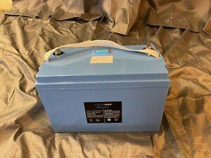 100ah lifepo4 battery 100amp BMS Dutchman Lithium Ion LED Fuel Gauge 1.2kwh USA
