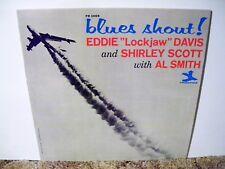 """EDDIE """" LOCKJAW """" DAVIS , BLUES SHOUT, VERY RARE 1964 , GREAT JAZZ TRIO"""