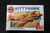 XL014 AIRFIX 1/72 maquette avion 01038 Curtiss P-40E Kittyhawk