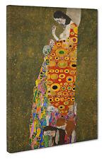 "Gustav Klimt ""Hope II"" Picture Canvas Print Wall Art Size 51x76cm"
