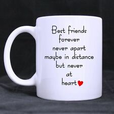 Details about  Gift Mug Funny Best Friends Forever Never Apart White Coffee Mug/