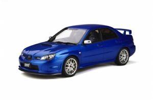 Subaru Impreza STI S204 2006 Mica Blau OT322 1:18 Otto Models