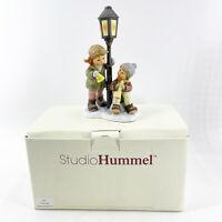 "Vintage Berta Hummel Goebel Figurine Thailand BH135 Making Spirits Bright 8.5"""