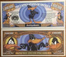 Daffy Duck Million Dollar Bill ( Warner Bros. )