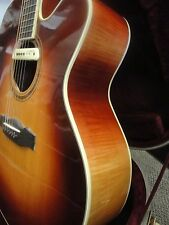 CUSTOM - LCM Acoustic Electric Guitar with Hard Shell Case