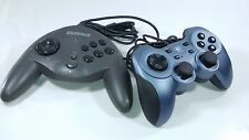 2 PC GAMING  CONTROLLERS MICROSOFT X08-09336  RUMBLE PAD LOGITECH WITH VIBRATION