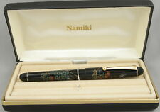 Namiki Nippon Art Wildflowers Maki-e Fountain Pen - New In Box - 1996 - 14kt Nib