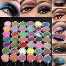 45 Color Loose Glitter Powder Face Body Nail Art Eyeshadow Makeup Cosmetics Set