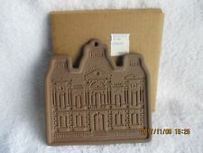 Vintage Smithsonian 1979 Hartstone Clay Cookie Mold & 4 Recipes Usa New in Box
