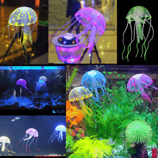 Jellyfish Aquarium Decorations Glowing Effect Fish Tank Artificial Ornament