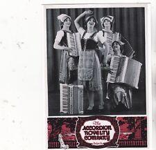 "*PC-Postcard-""--A-D-""4 Ladies & 4 Accordions"" (Accordion Novelty Co./ (S3)"