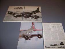 """VINTAGE..B-17 """"TEXAS RAIDERS"""" HISTORY...HISTORY/PHOTOS/DETAILS..RARE! (180L)"""