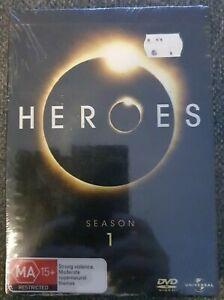 Heroes : Season 1 (DVD, 2007, 7-Disc Set) Brand New Sealed