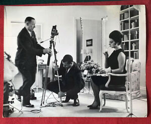 1960's Sophie Loren & Cigarette by JACK STAGER Original Photo