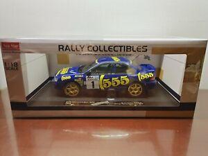 1/18 Sunstar Subaru Impreza 555 Winner Rally Catalunya 1996 C.McRae / D.Ringer