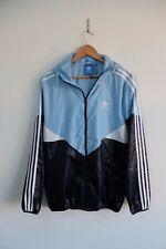Adidas Originals Windbreaker jacket | M | Blue/Navy Trefoil shell rain