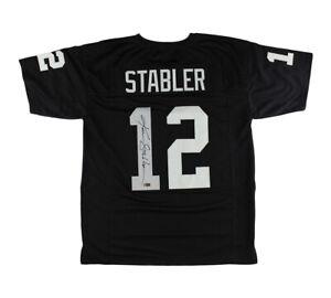 Ken Stabler Signed Las Vegas Custom Black Jersey