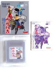 YU YU HAKUSHO Dai2dan Ankoku Bujutsu Kaihen Nintendo Game Boy GB Jap Japan