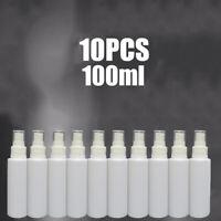 10 Pcs 100ml Empty Refillable Plastic Pump Spray Bottle Travel Perfume Atomiser