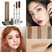 3 Colors Liquid Four-tip Brow Definer Eyebrow Pencil Waterproof Lasting-Make Up-