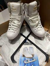 New listing Jackson Girls White Ice Skating Boots