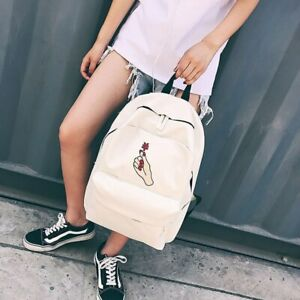 Couple Bags Rucksack Backpack Women Canvas Student Girls Campus Backpack Travel