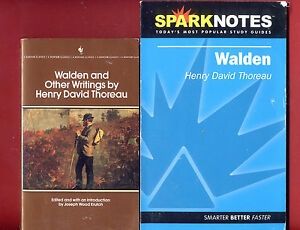 Walden by Henry David Thoreau & SparkNotes study guide