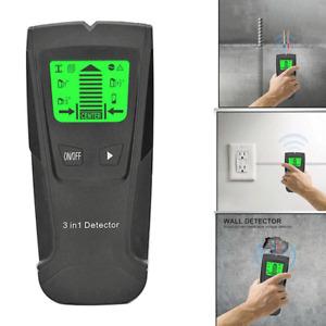 Wall Detector Finder Scanner Wood Stud Metal Wire Cable Pipe Tester Meter 3in 1