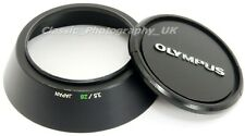Genuine OLYMPUS OM-System ZUIKO 28mm F2.8 & 28mm F3.5 Lens Hood + 49mm Front Cap