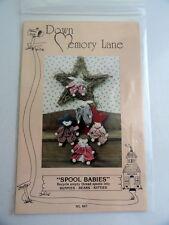 Down Memory Lane Spool Babies - Bunnies, Bears and Kitties 1991