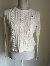 Blonde+blonde Women Jumper Cream Knit Size 10 (9)
