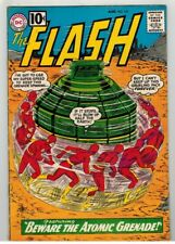 THE FLASH #122 - ORIGIN & 1st APP OF THE TOP - INFANTINO ART & COVER - DC/1961