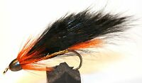ICE FLIES. Streamer fly, Dentist Zonker. Size 2, 4, 6, 8 and 10 (3-pack)