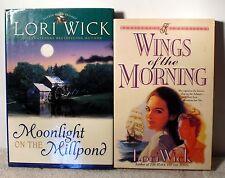 2  books by Lori Wick -