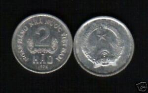 VIETNAM 2 HAO KM12 1976 NHNNVN COIN LOT X 10 PCS MONEY VIETNAMESE ASIA