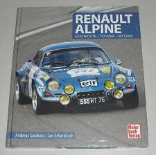 Libro Ilustrado Renault Alpine A110 A310 A610 Gt V6 Turbo Historia Tecnología