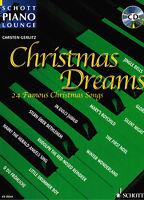 Klavier Noten : Christmas Dreams -  mit CD Weihnachten (Pop) mittelschwer