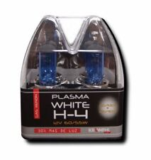 H4 12V 55W 60W 5000K TWIN FILAMENT WHITE BLUE HEADLIGHT  XENON BULBS