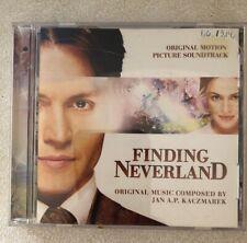 Finding Neverland [Original Motion Picture Soundtrack] by Jan A.P. Kaczmarek.CD