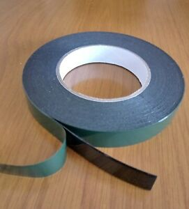 Black Double Sided Foam Automotive Permanent Car Body Trim Tape Strong Adhesive