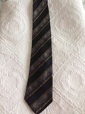 Marc Montino Men's Striped Silk Tie
