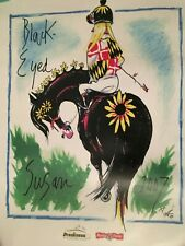 2007 BLACK-EYED SUSAN HORSE RACE FROM PREAKNESS PRINT