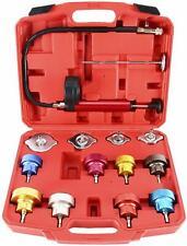 14 Pcs Radiator Pressure Tester Cooling System Water Tank Leak Detector Checker