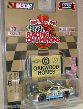 1/64 Racing Champions Gold/Chrome CHEVROLET #15 Chad Chaffin/Oakwood Homes