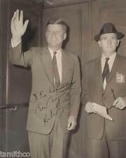 John F. Kennedy Signed Reprint Presidential Campaign 1960 8x10 Photo 014
